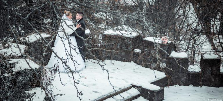 Creative wedding photo